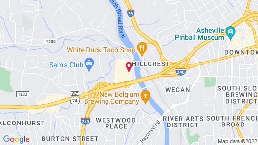 Country Inn & Suites by Radisson, Asheville Westgate, NC Map
