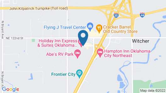 Holiday Inn Express & Suites Oklahoma City North, an IHG Hotel Map