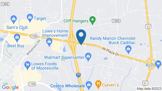 Fairfield Inn by Marriott Charlotte Mooresville Map