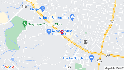 Baymont by Wyndham Columbia Maury Map