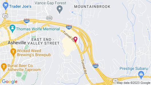Homewood Suites by Hilton - Asheville Map
