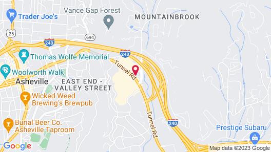The Beaucatcher – A Boutique Motel Map