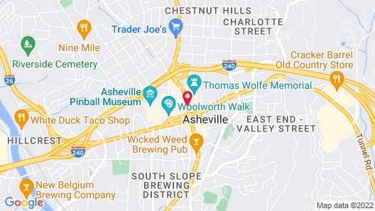 The Windsor Boutique Hotel Map
