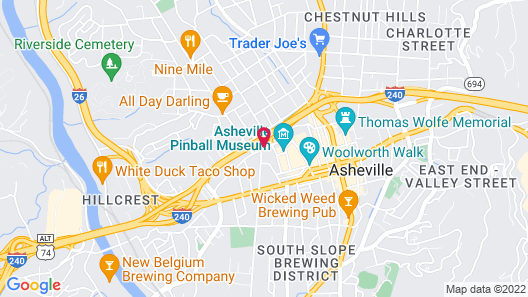 Hotel Indigo Asheville Downtown, an IHG Hotel Map