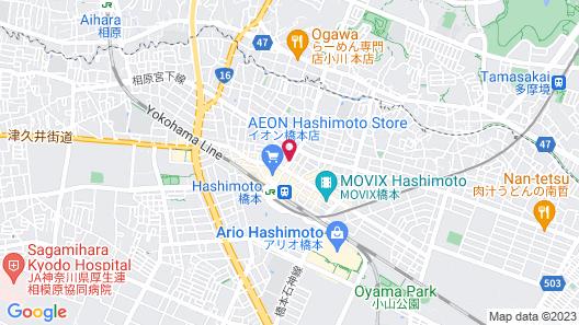 APA Hotel Sagamihara-Hashimoto-Ekimae Map