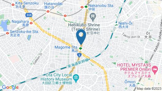 Tokyo Inn Map
