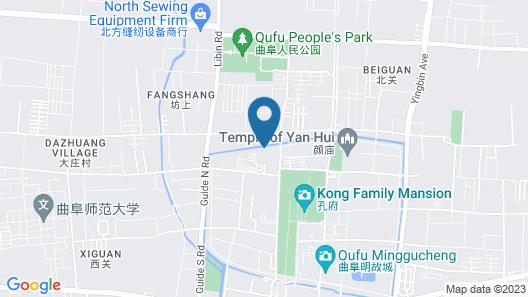 Qufu International Youth Hotel Map