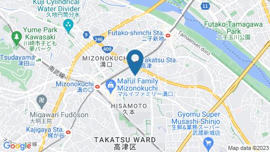 Pearl Mizonokuchi Map