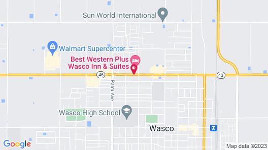 Best Western Plus Wasco Inn & Suites Map