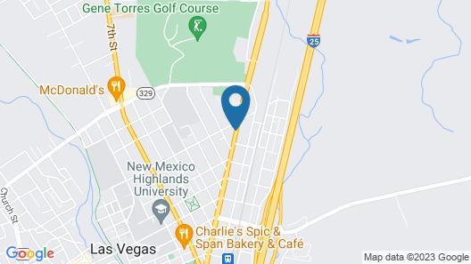 Knights Inn Las Vegas Map