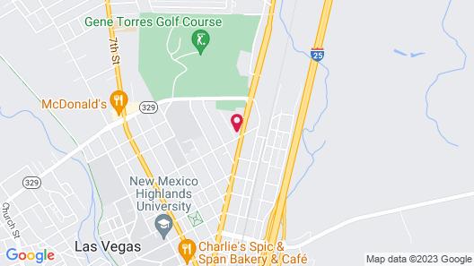 Sunshine Motel Map