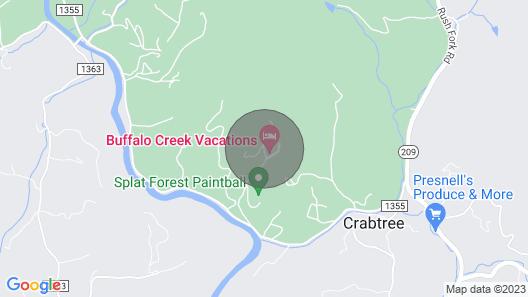 Tatonka Lodge, 2 Master Suites on a Buffalo Ranch! Map