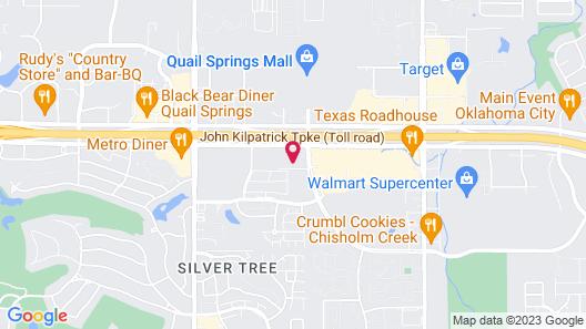 Courtyard by Marriott Oklahoma City North/Quail Springs Map