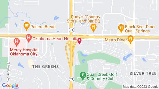 Country Inn & Suites by Radisson, Oklahoma City - Quail Springs, OK Map