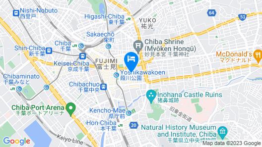 Hotel Baron Chiba-chuo Map