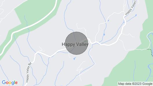Happy Bear Hideaway - 3 Br/2ba Map