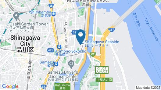 Sotetsu Grand Fresa Shinagawa Seaside Map