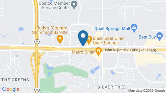 La Quinta Inn & Suites by Wyndham OKC North - Quail Springs Map