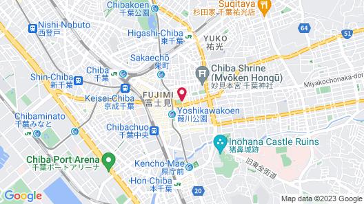 Mitsui Garden Hotel Chiba Map
