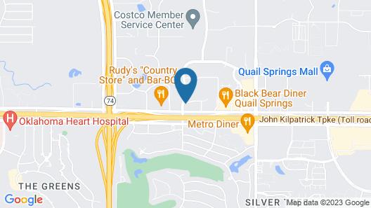Holiday Inn Oklahoma City North Quail Spgs, an IHG Hotel Map