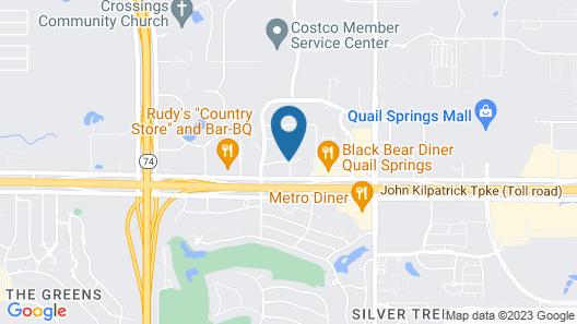 Four Points by Sheraton Oklahoma City Quail Springs Map