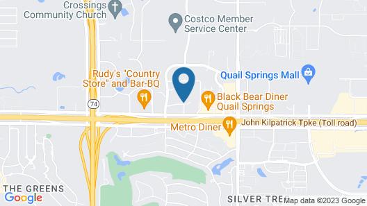 Hilton Garden Inn Oklahoma City North Quail Springs Map