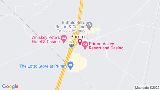 Primm Valley Resort & Casino Map