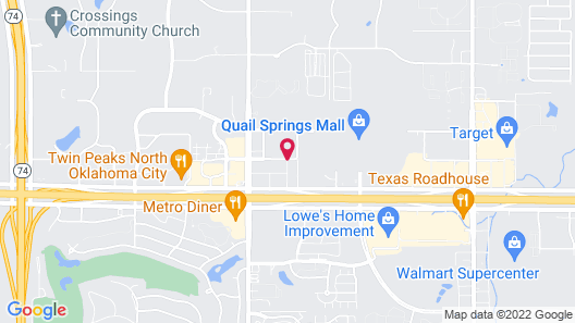 Staybridge Suites Oklahoma City-Quail Springs, an IHG Hotel Map