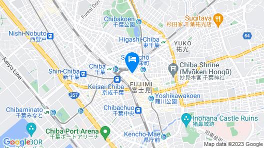 Daiwa Roynet Hotel Chiba Ekimae Map