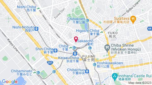 APA HOTEL <CHIBA EKIMAE> Map