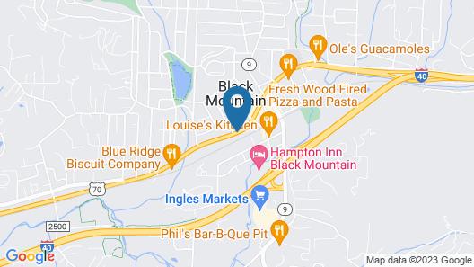 The Monte Vista Hotel Map