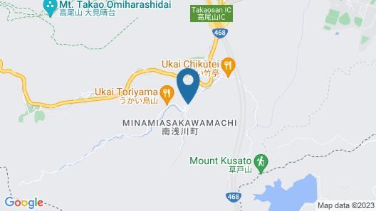 Hotel Takao Asile Map
