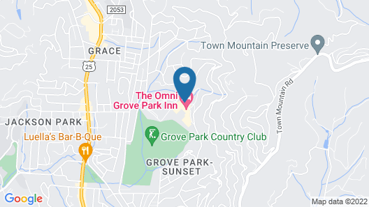 The Omni Grove Park Inn Map