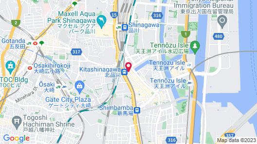 Flexstay Inn Shinagawa Map