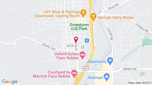 Stables Inn Map