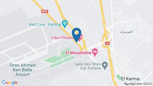 Eden Airport Map