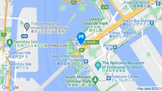 Grand Nikko Tokyo Daiba Map