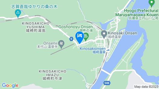 Tsutaya Ryokan Map