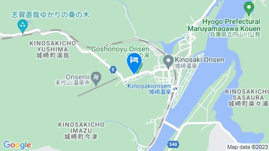 Kinosaki Tajimaya Map