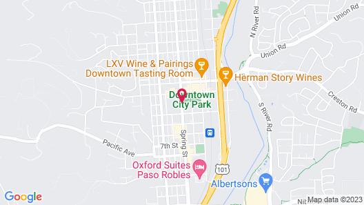 Paso Robles Inn Map