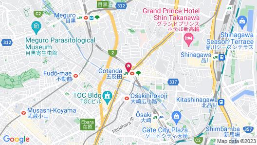Hotel MyStays Gotanda Station Map