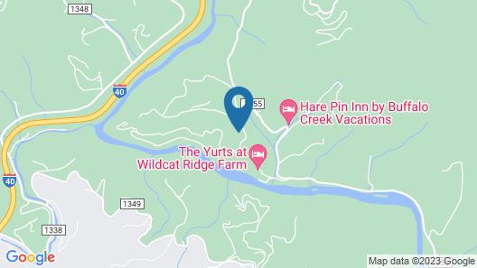 Imani's Cabin - 3 Br Cabin Map