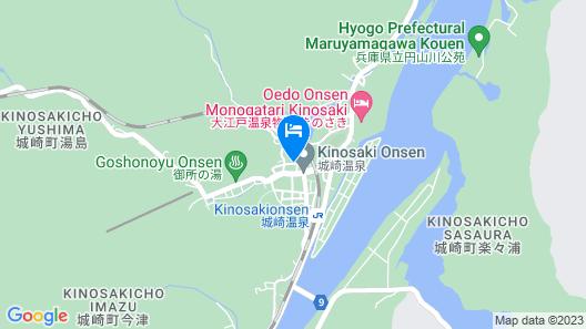 Kinosaki Onsen Kinsui Map