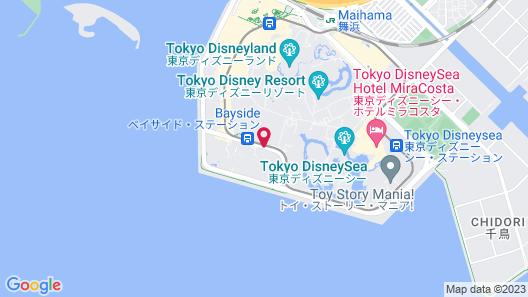 Sheraton Grande Tokyo Bay Hotel Map