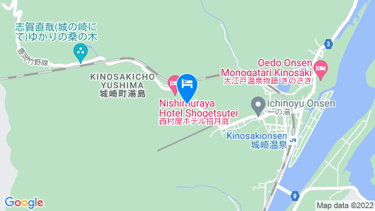 Shinzan Rakutei Map