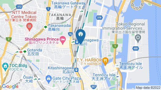 The Strings by InterContinental Tokyo, an IHG Hotel Map