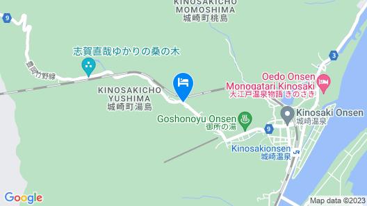 Nishimuraya Hotel Shogetsutei Map