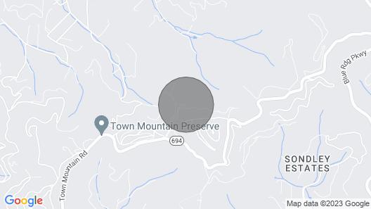 Asheville Lodge- Sleeps 11-21 Map