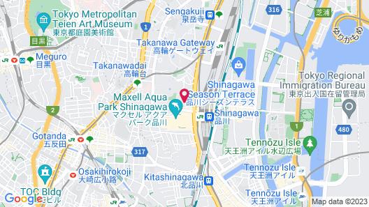 KEIKYU EX HOTEL SHINAGAWA (EX KEIKYU EX INN Shinagawa-Station) Map