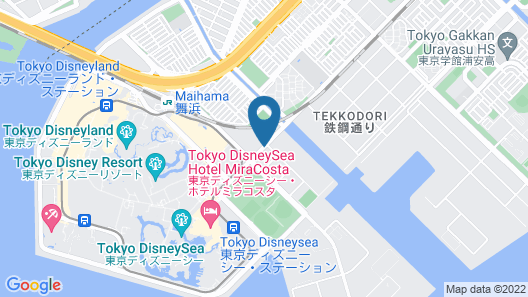 Hotel MyStays Maihama Map